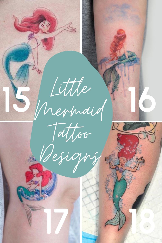 Ariel Tattoo Design