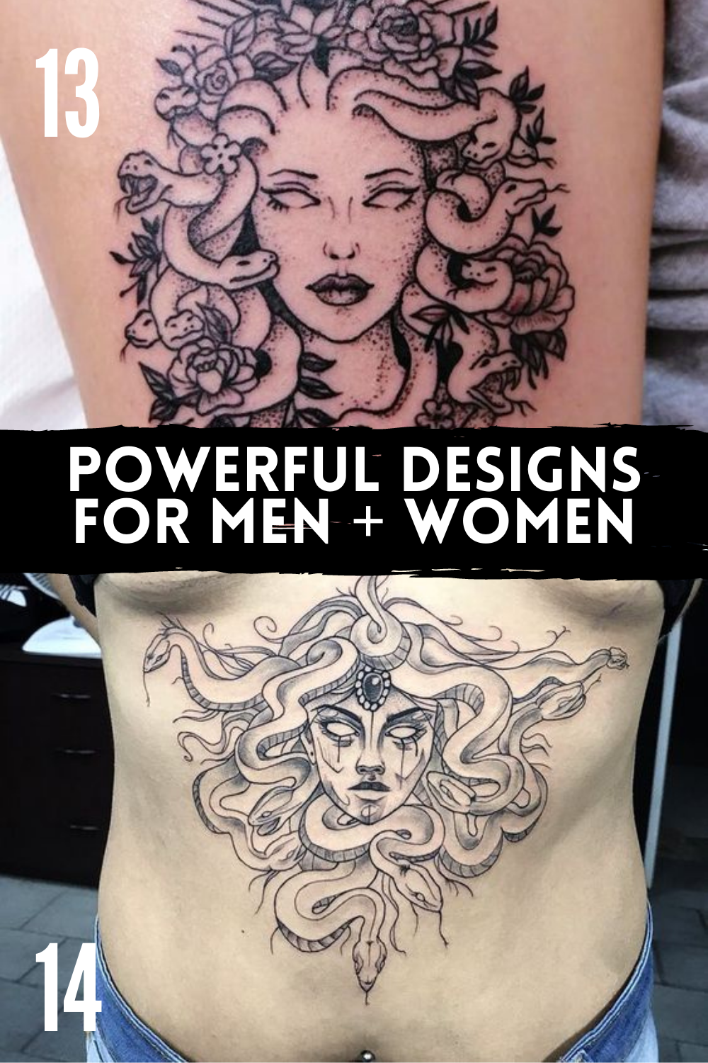 Powerful Designs for Men and Women
