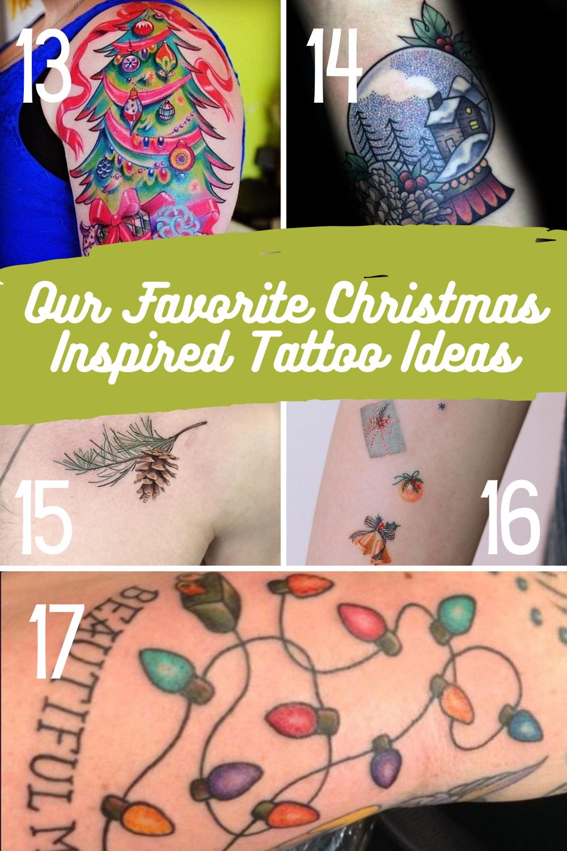 Christmas Light Tattoo