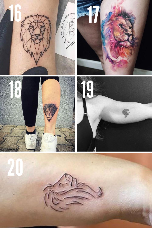 Leo Tattoo Ideas