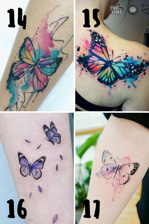 Simple Butterfly Tattoo Ideas