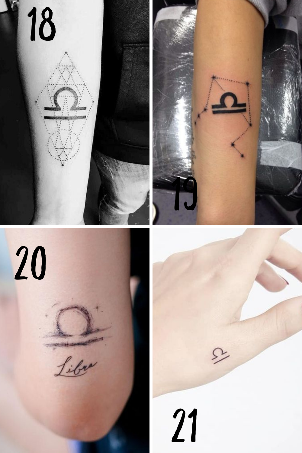 Libra Tattoo Ideas