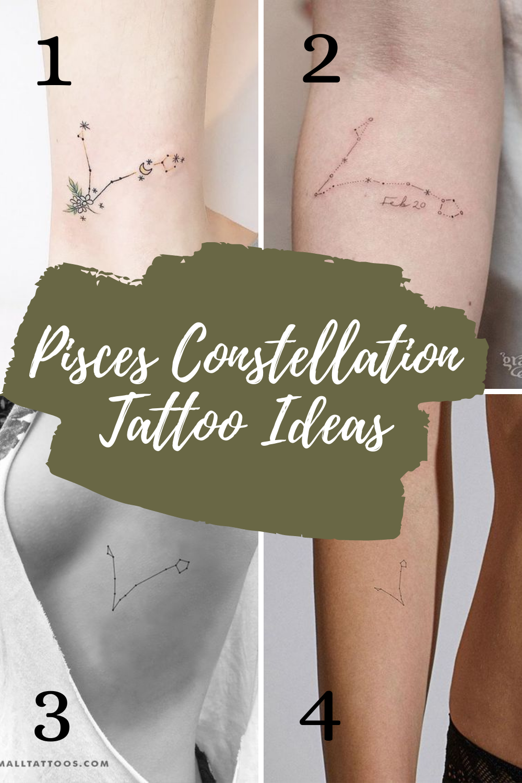 Pisces Constellation Tattoo ideas