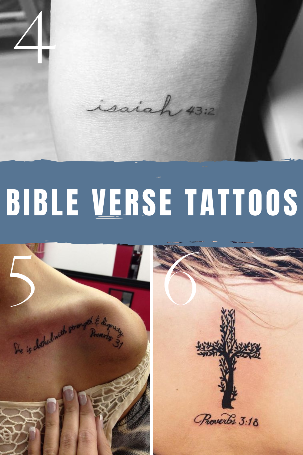 Quotes from the bible tattoo ideas