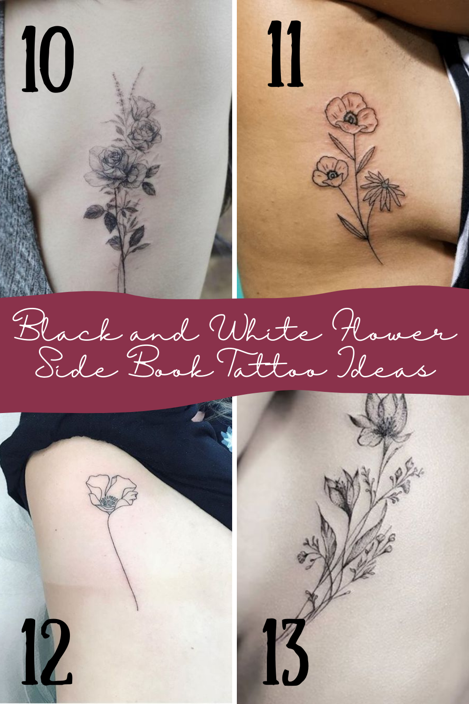 Black and White Tattoo Ideas