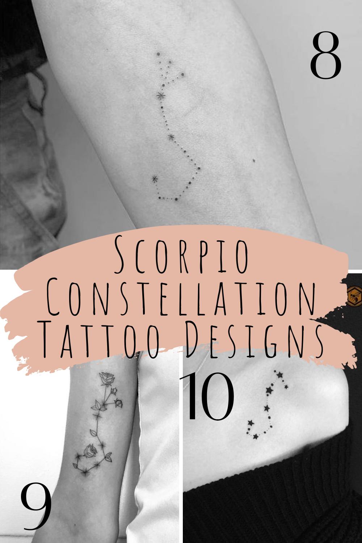 Constellation Tattoo Designs