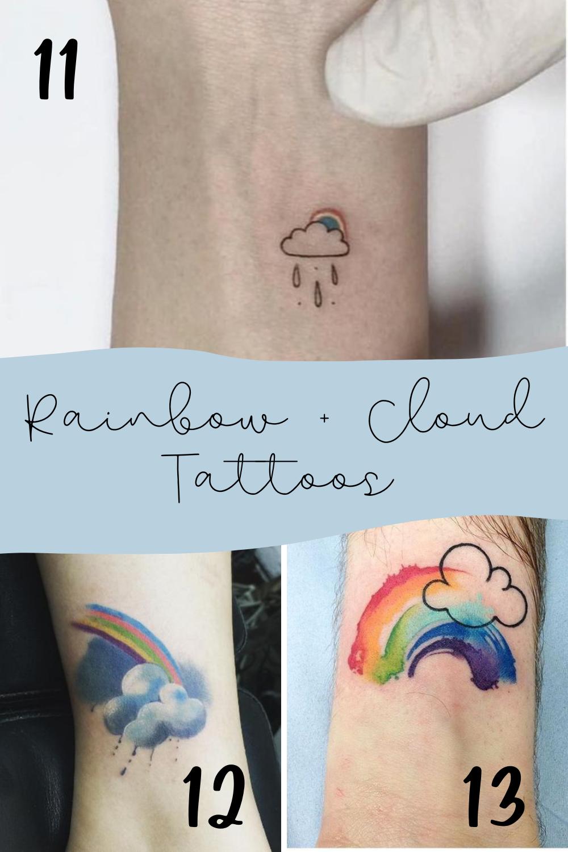 Rainbow Tattoo Ideas