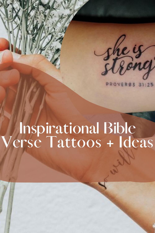 Bible Verse Tattoo Ideas