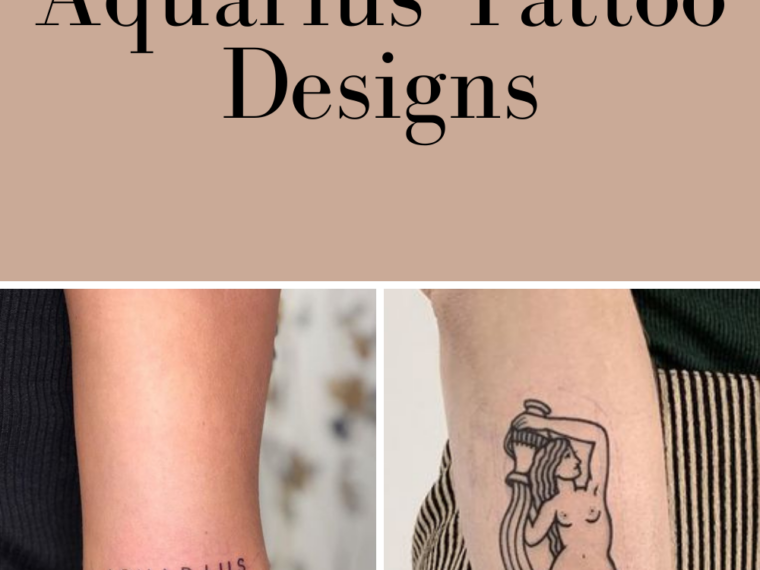 Aquarius Tattoos