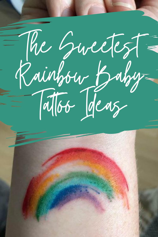 Rainbow Baby Tattoo Ideas
