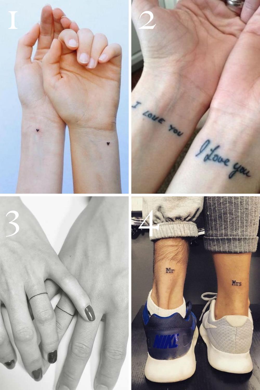 Cute Couples Tattoos