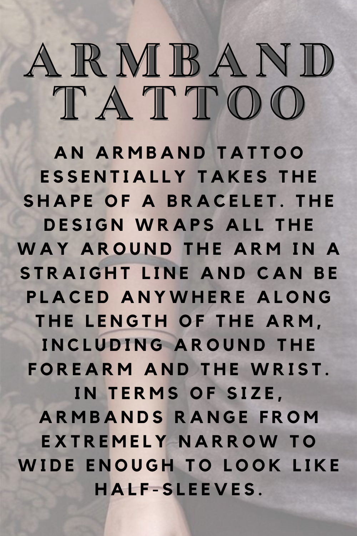 Armband tattoo Definition