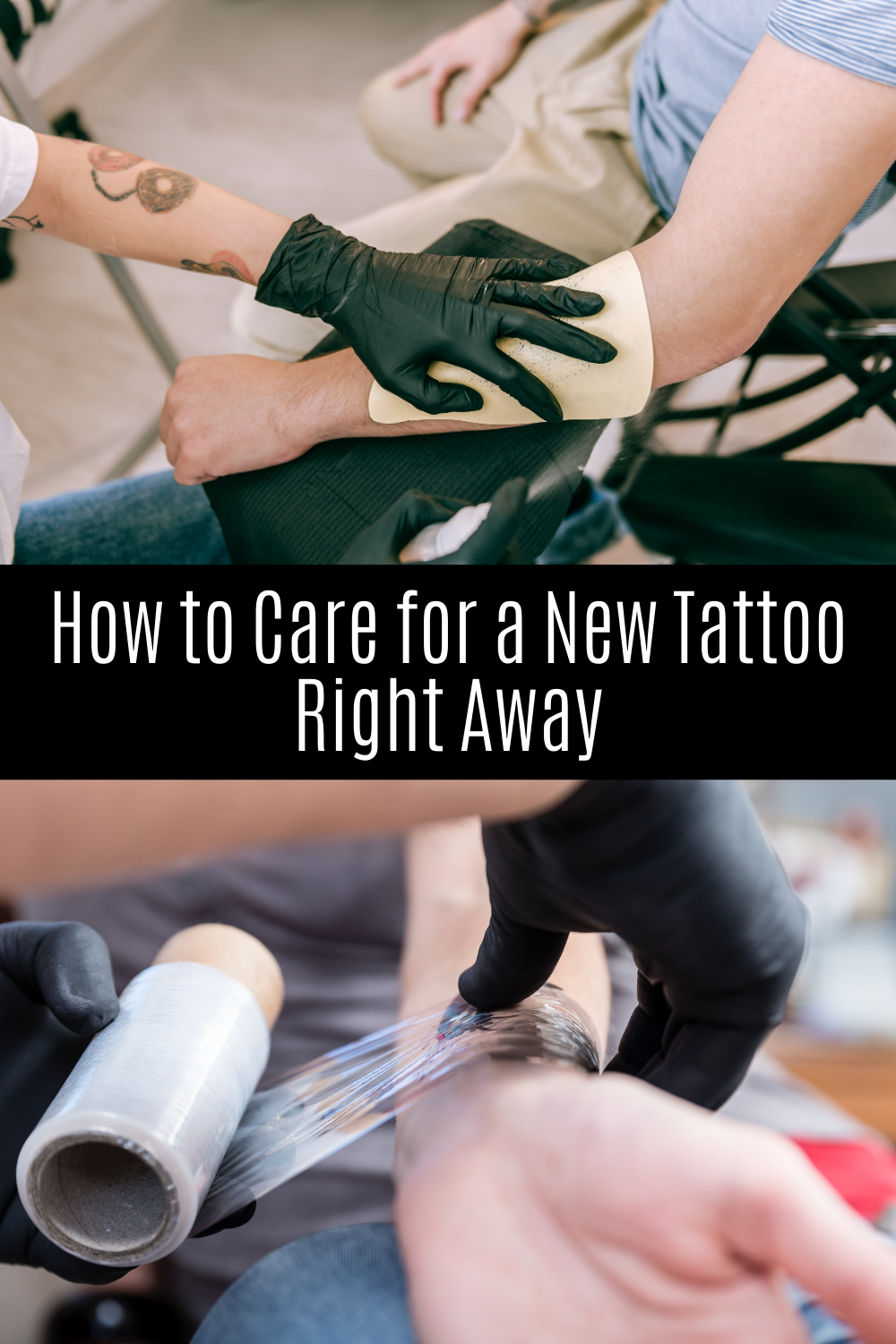 New Tattoo Care First 48 Hours - What Do To Right Away.