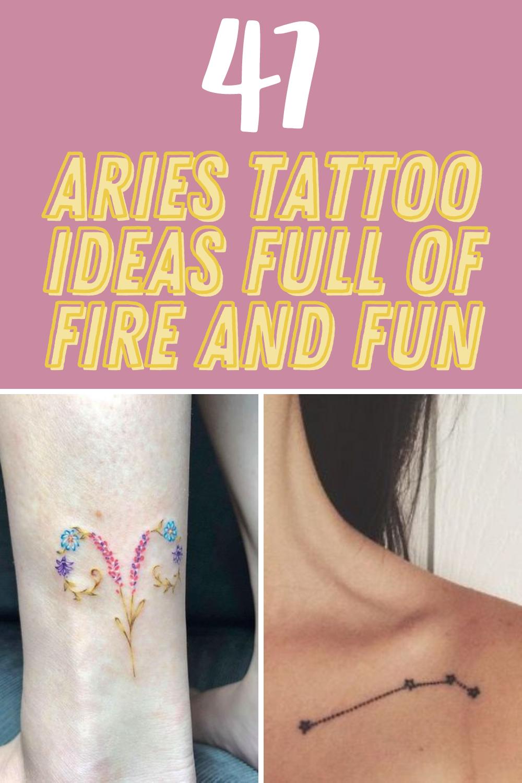 Zodiac Tattoos Aries