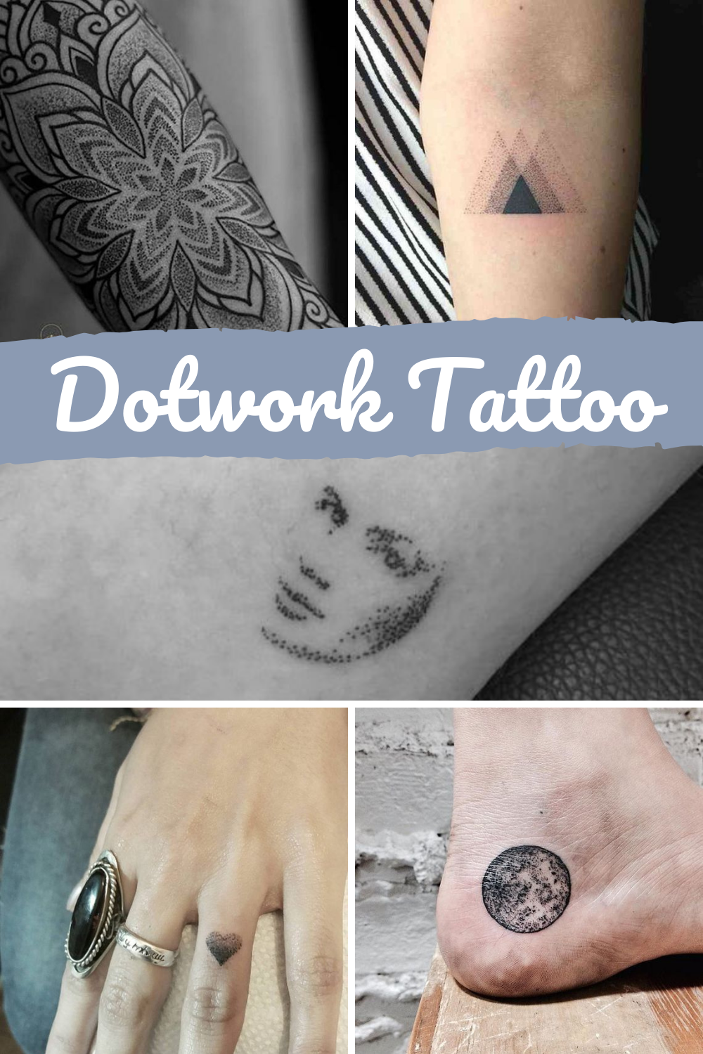 Dotwork Tattoos Ideas