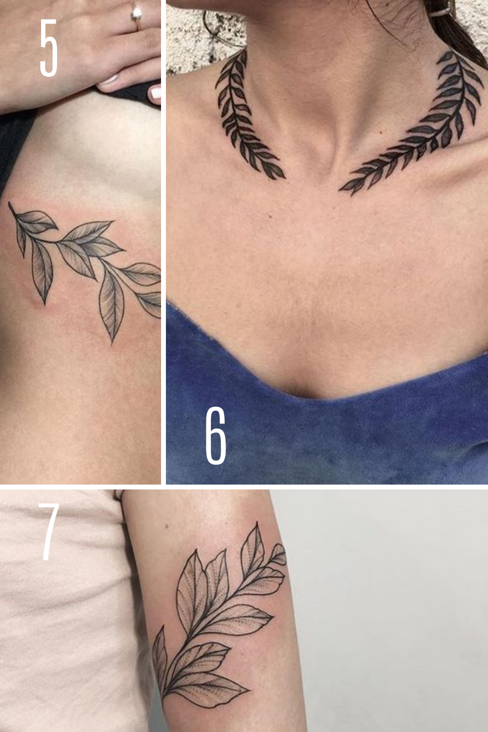 Vine Tattoo designs inspiration