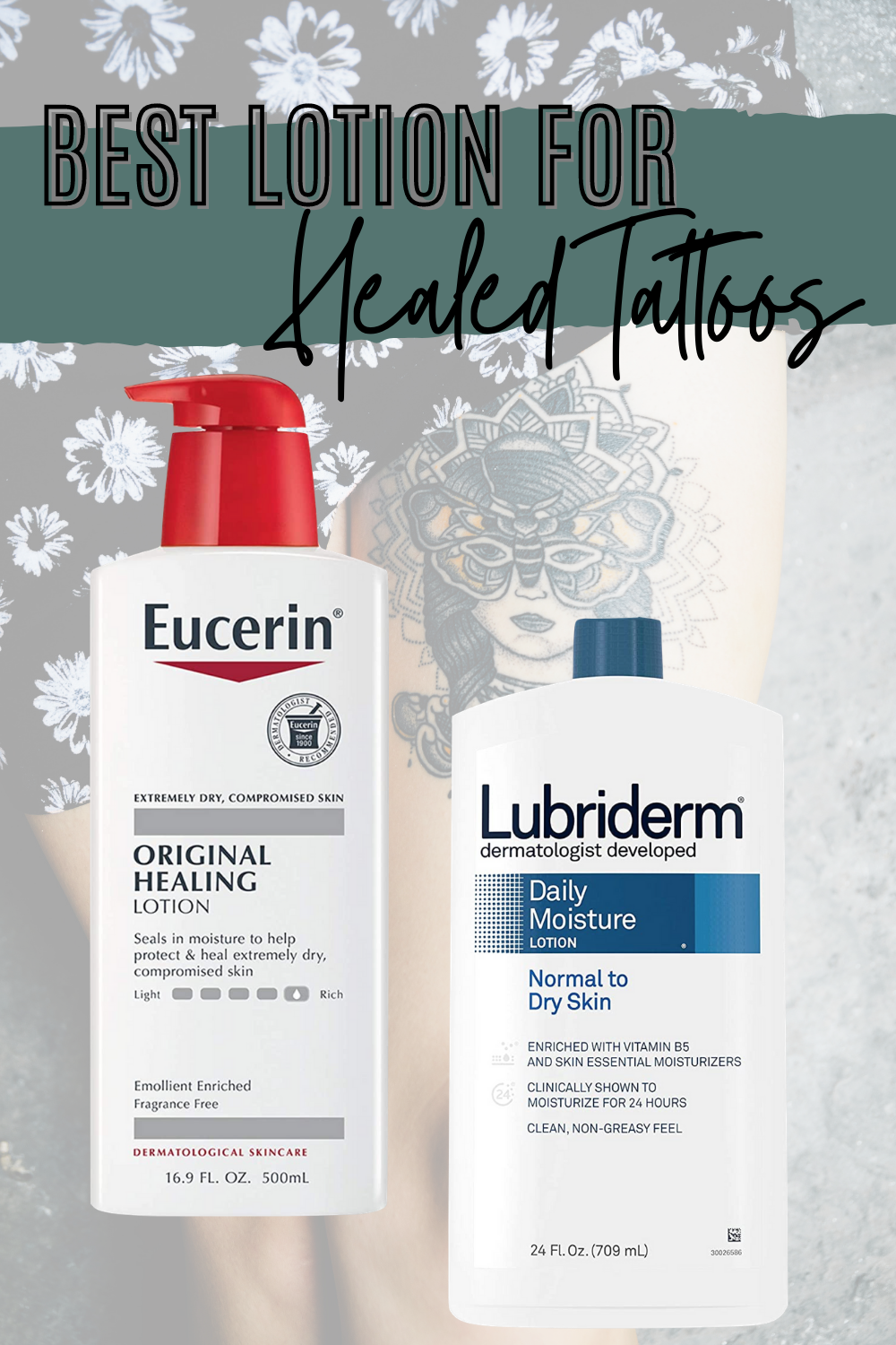 Best Lotion for Healing Tattoos