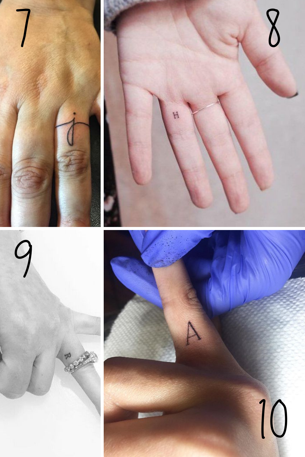 Initial Tattoo Ideas For Wedding Ring