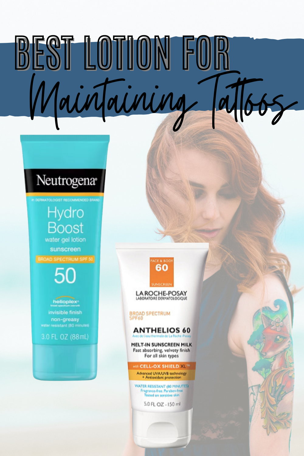 Maintaining Your Tattoo Lotions