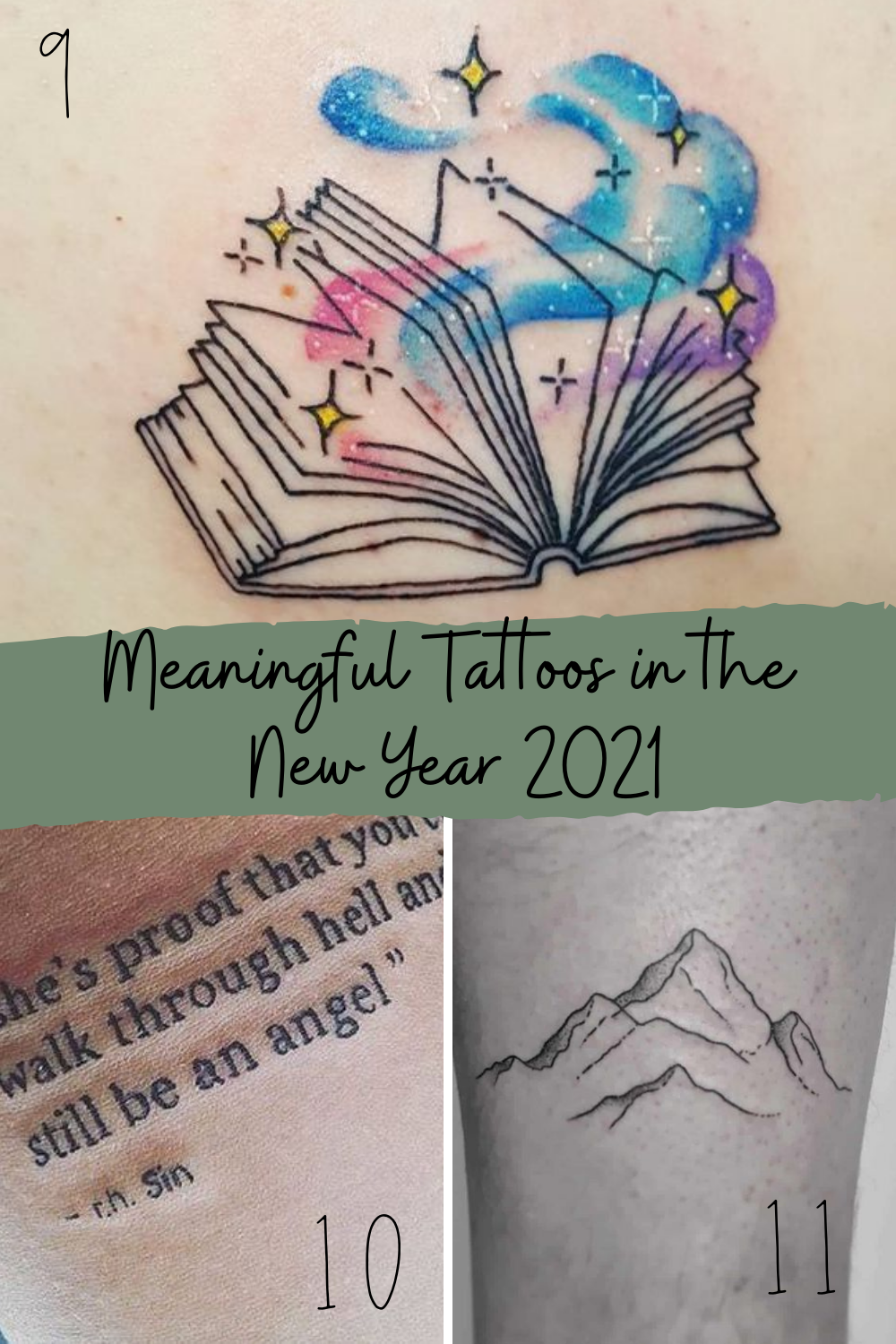 Small Meaningful Tattoos for 2021 New Year