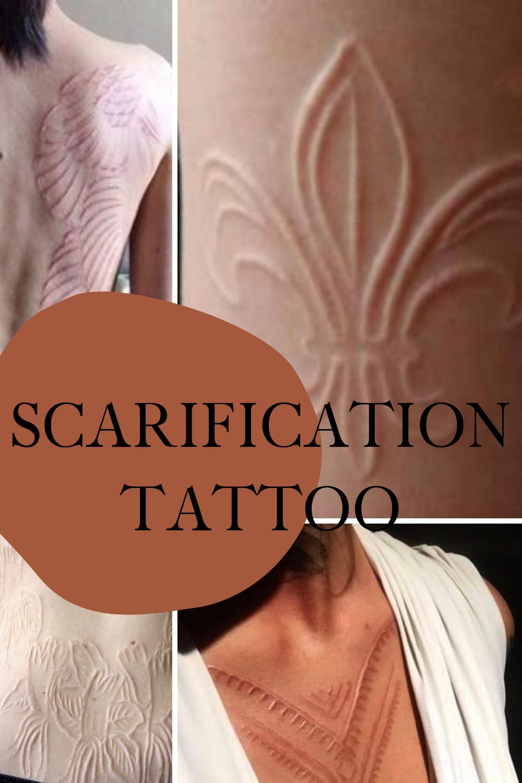Scarification Tattoo Ideas
