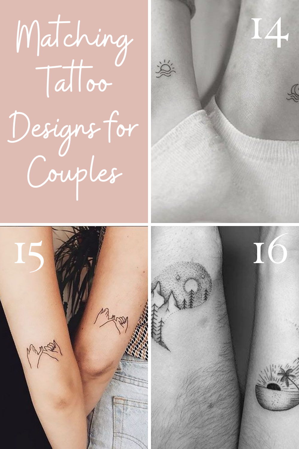 Cute Couples Tattoo Designs To Show Love