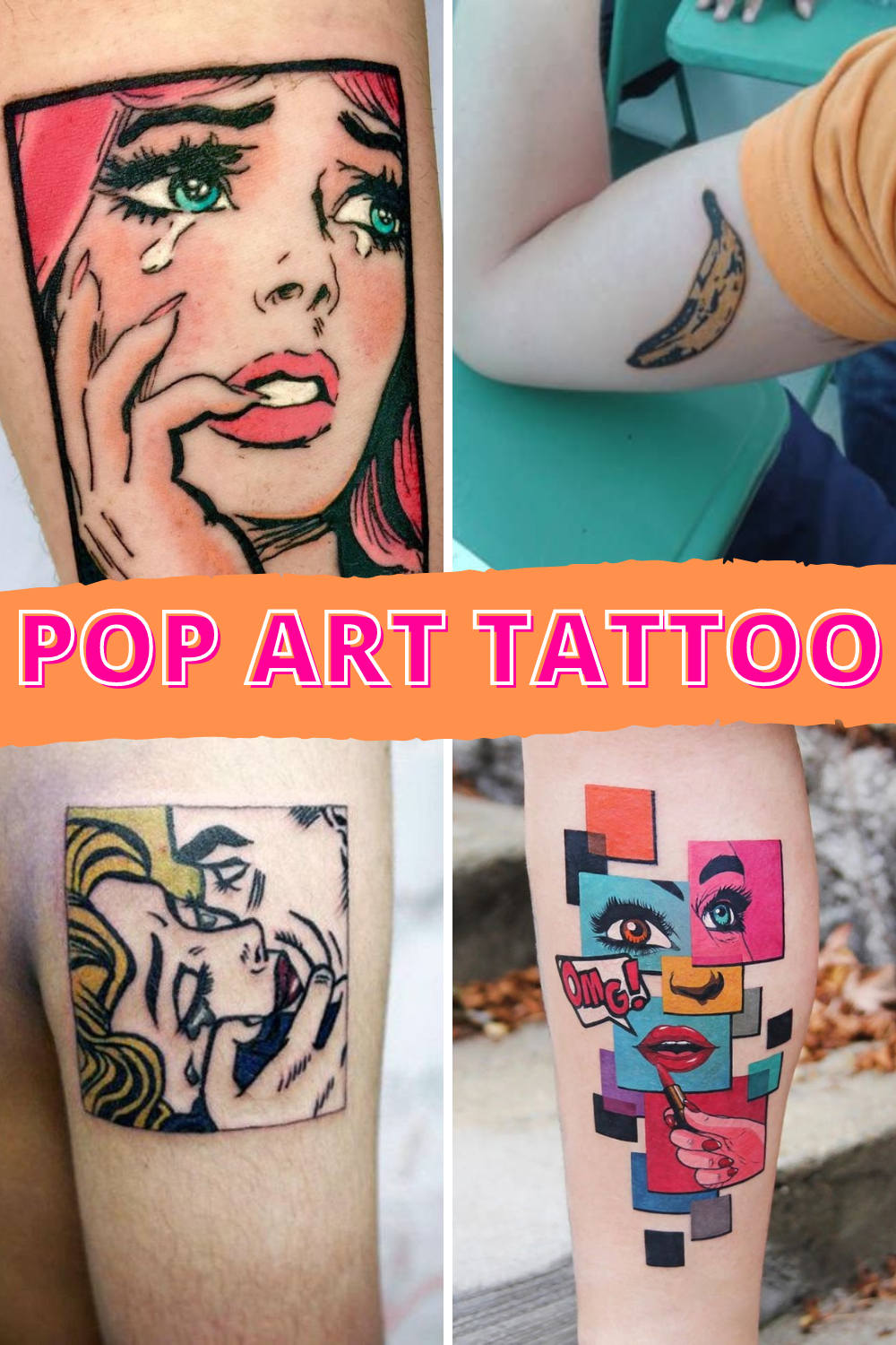 Pop Art Tattoo Inspiration & Designs