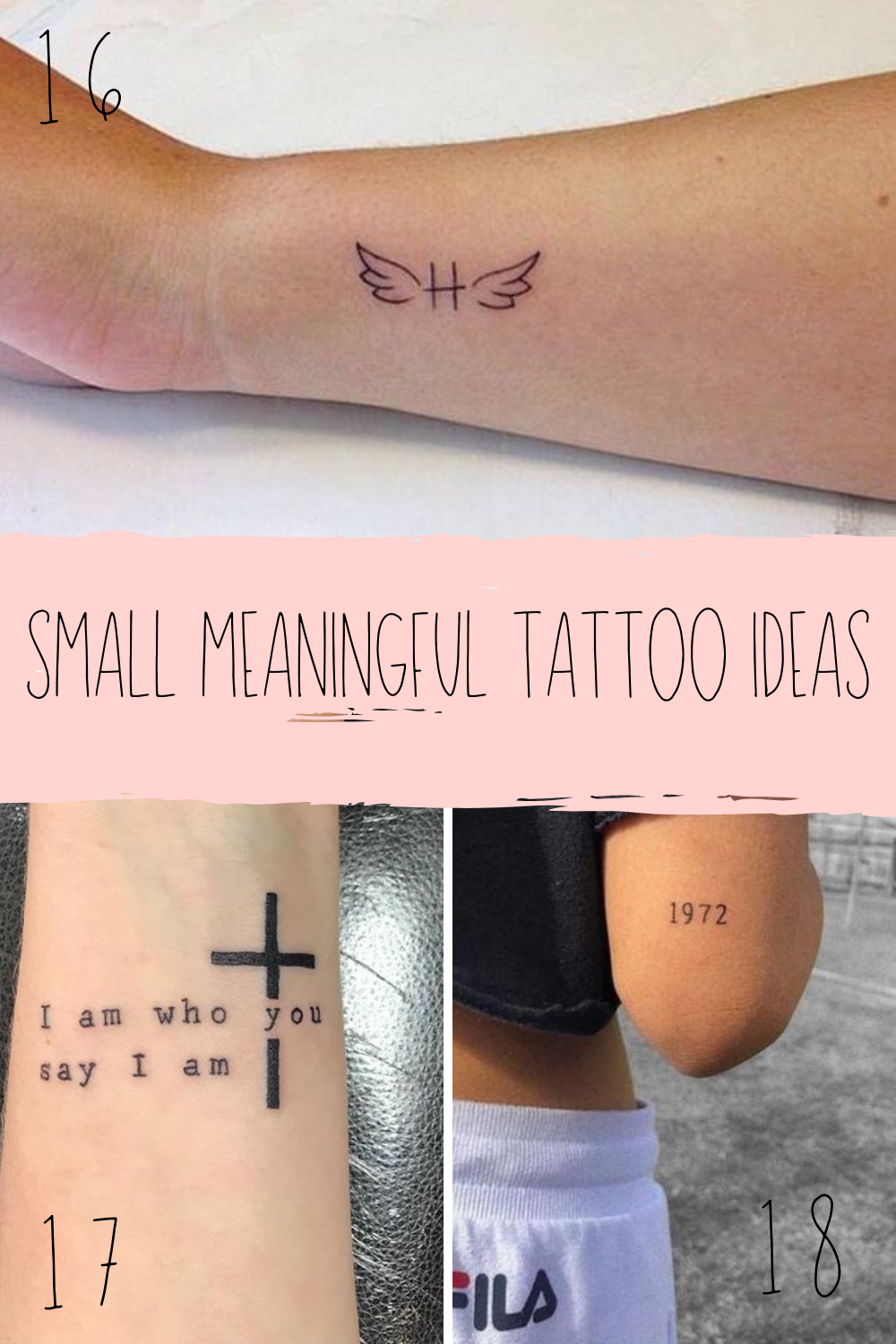 Small Meaningful Quotes Tattoos