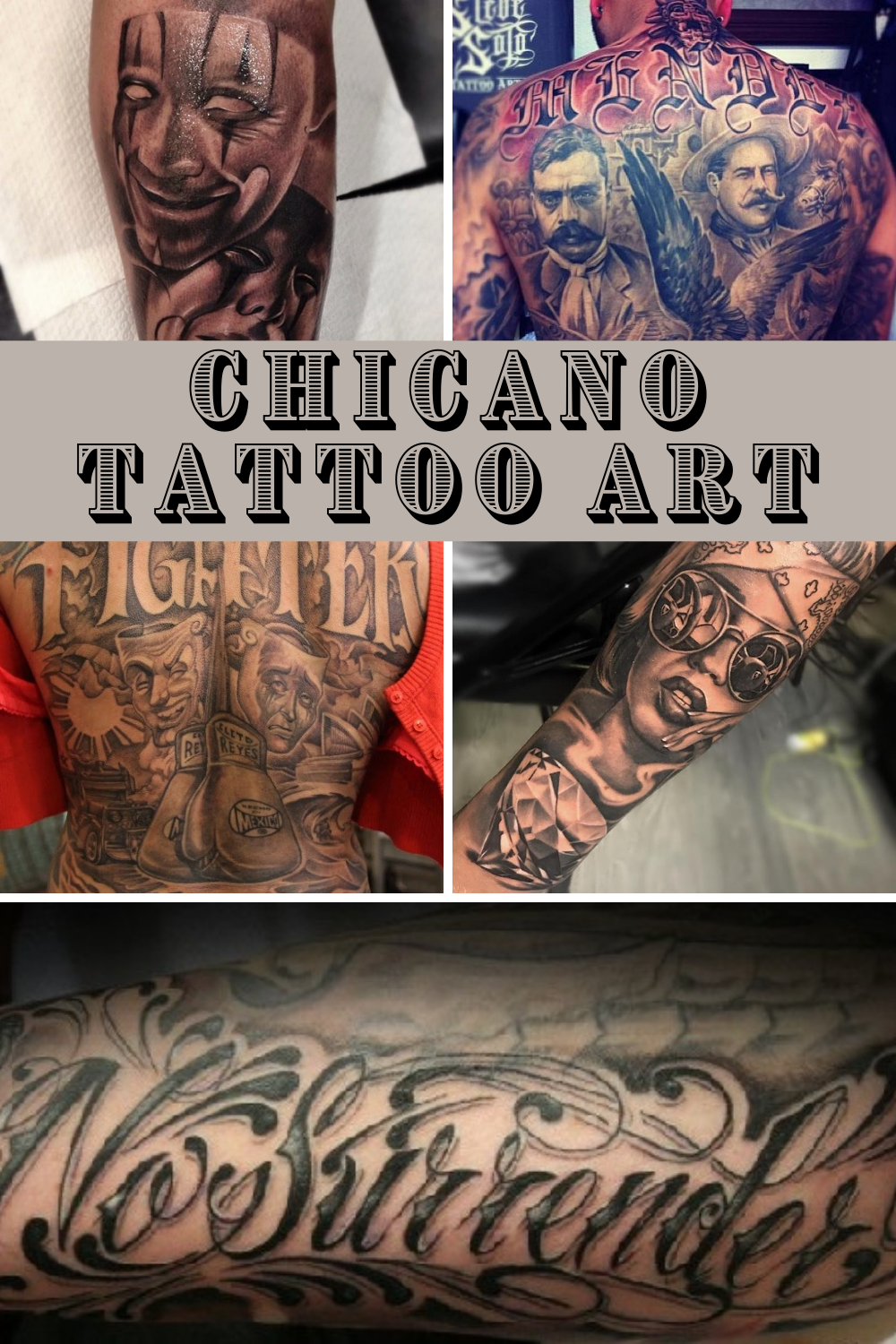 Chicano Tattoo Art Inspiration