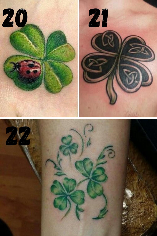 Lucky Tattoo Designs For Irish