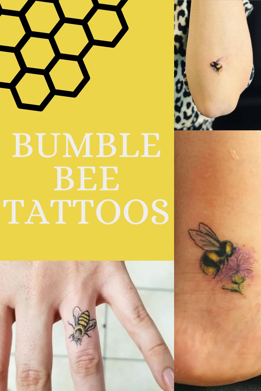 Bumble Bee Tattoos