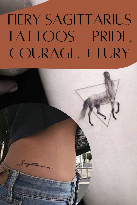Zodiac Tattoos Sagittarius Ideas