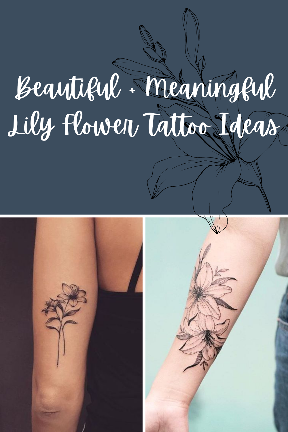 Flower tattoos Beautiful with meaning