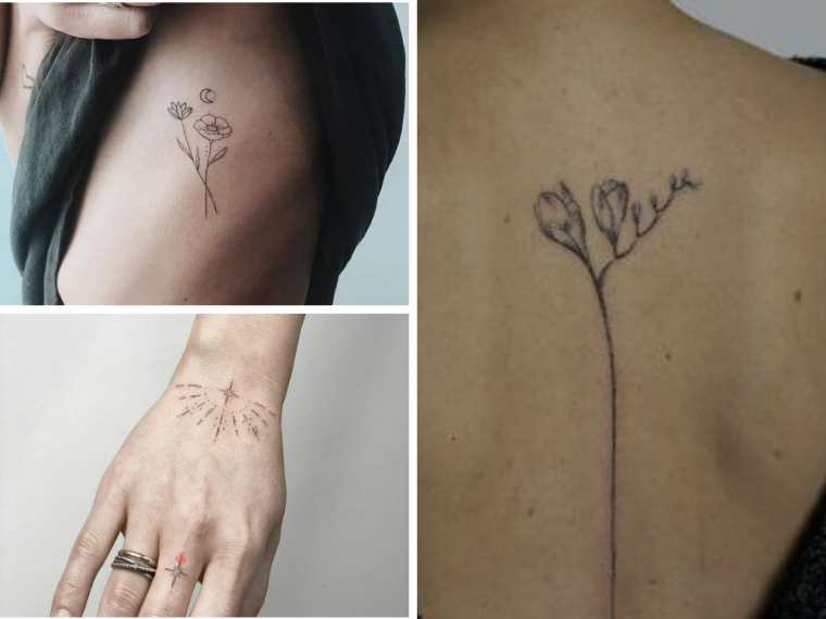 Stick and Poke Tattoos