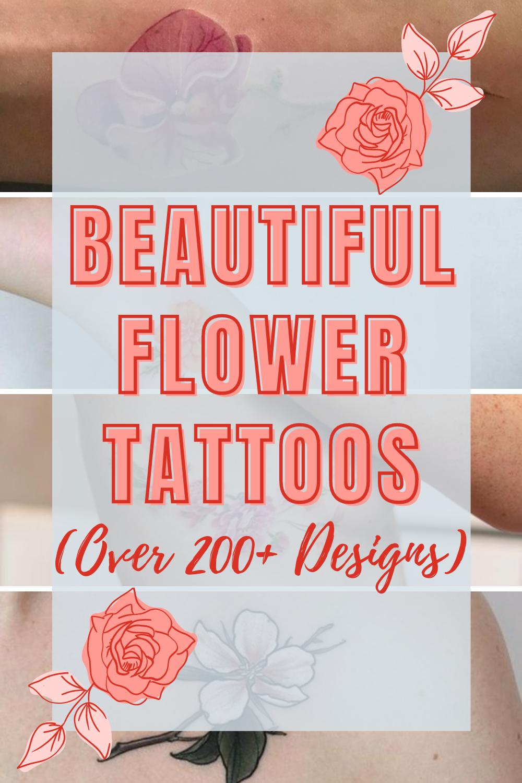 Flower Tattoos Beauty