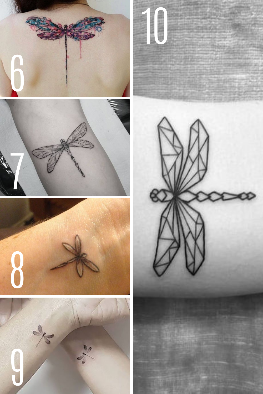 Dragonfly Tattoo Inspiration & Designs