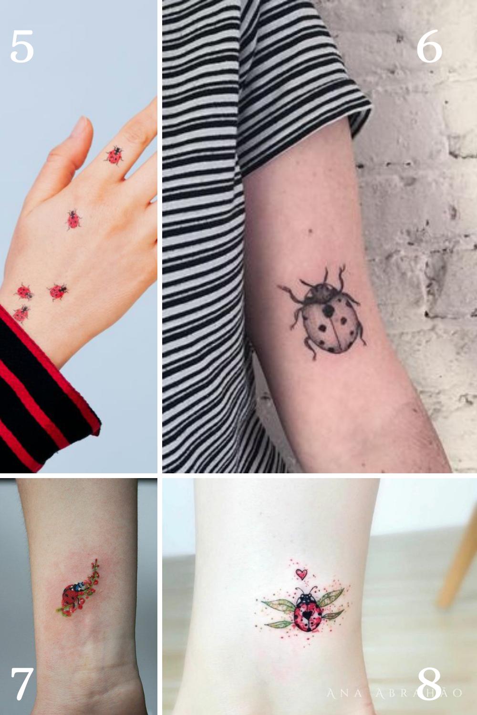 Ladybug Tattoo Meaning & Designs