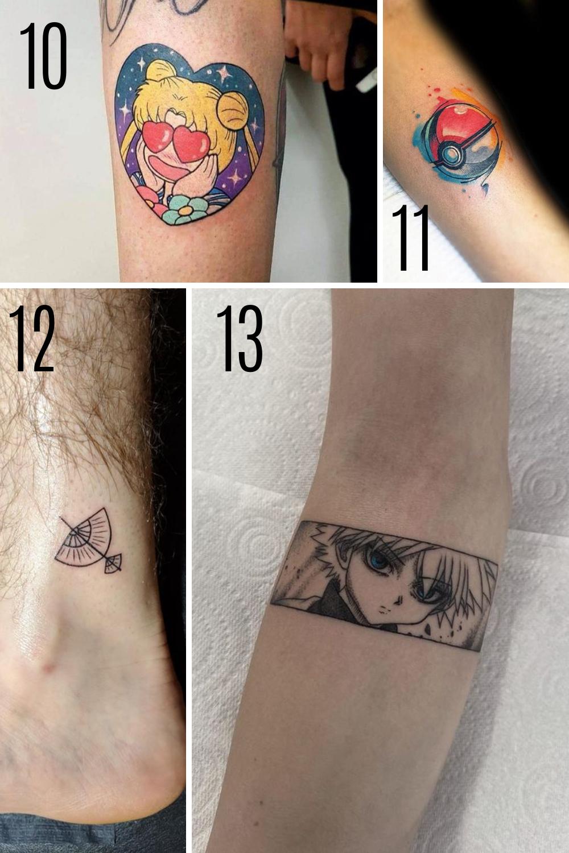 Cartoon Tattoo Designs