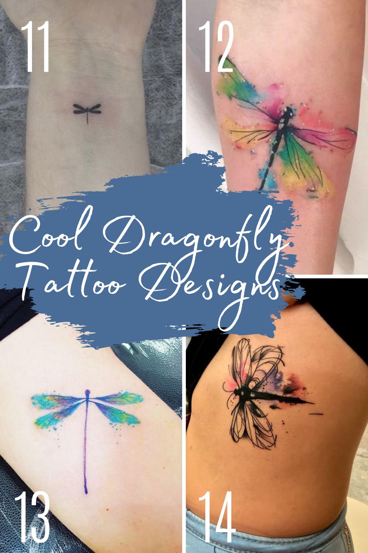 Cool Dragonfly Tattoo Ideas