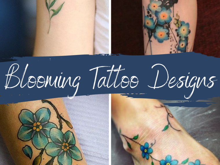 Blooming Tattoo Designs