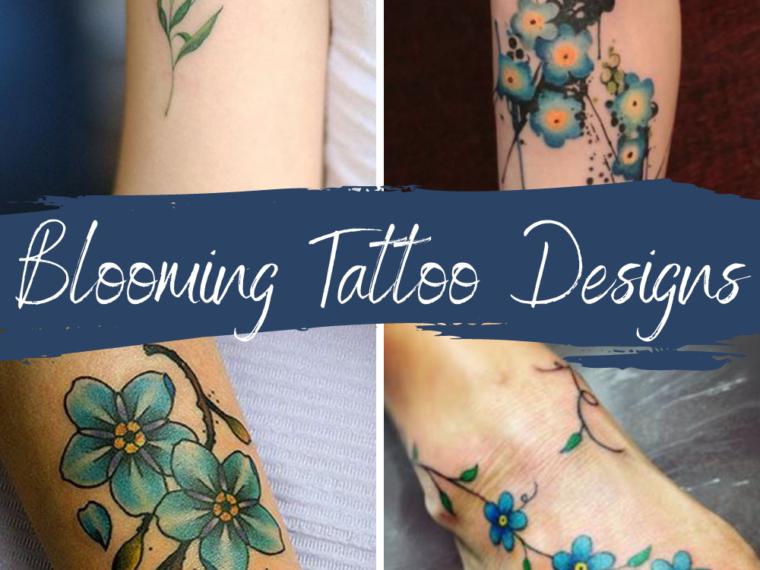 Blooming Tattoo Designs