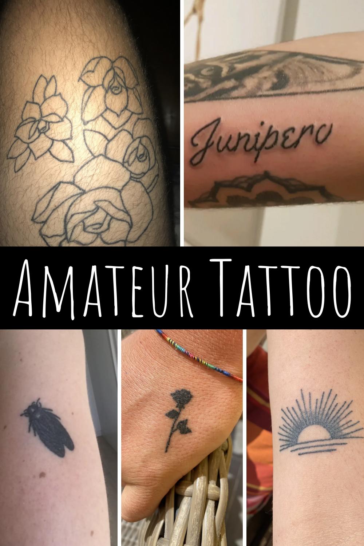 Amateur tattoo designs