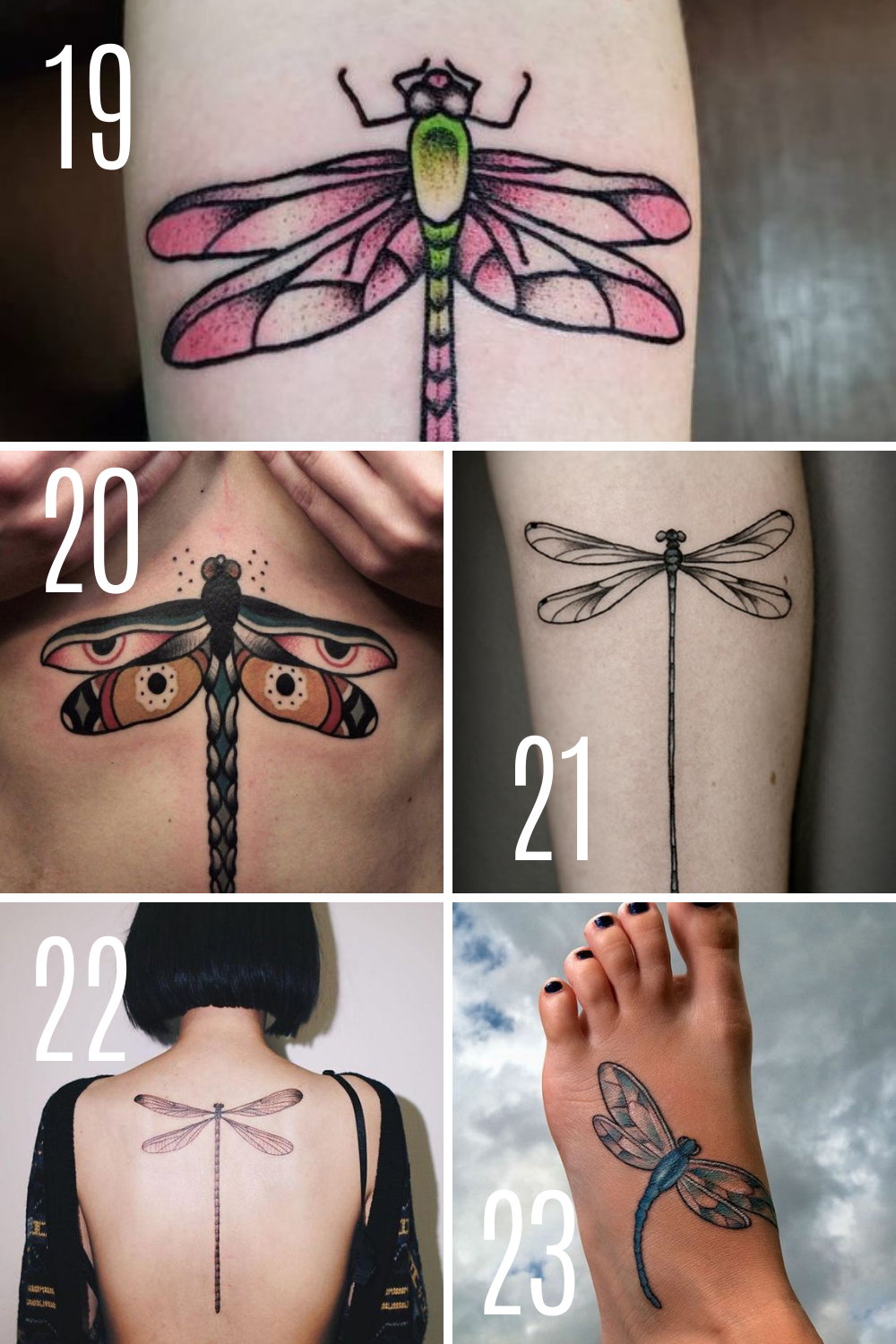 Meaningful tattoo ideas With Dragonflies