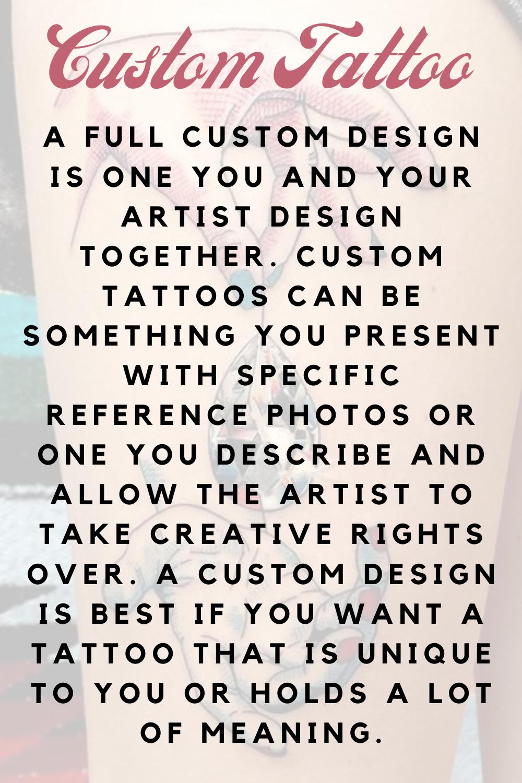 Custom Tattoos Defined