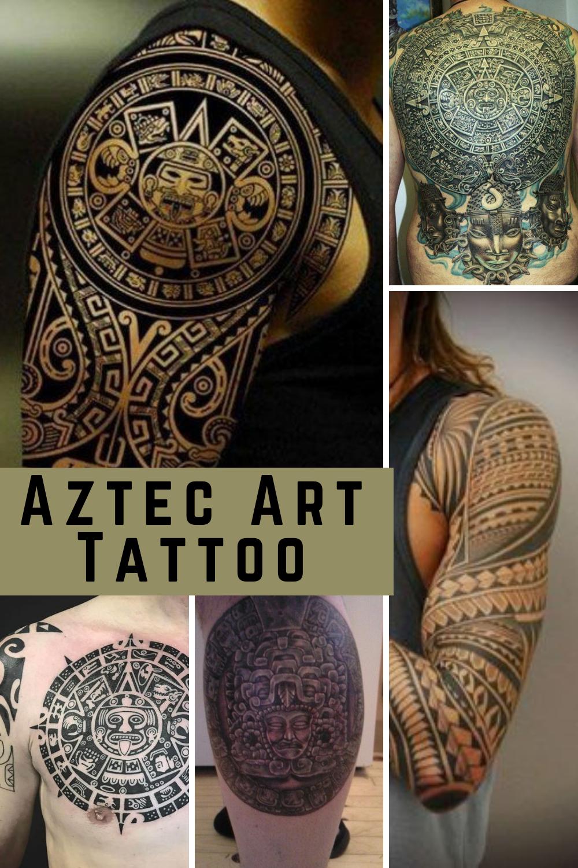 Aztec Art Tattoo Inspiration