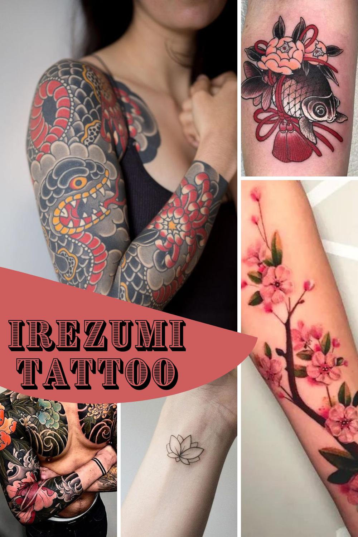 Irezumi Tattoo Ideas Design