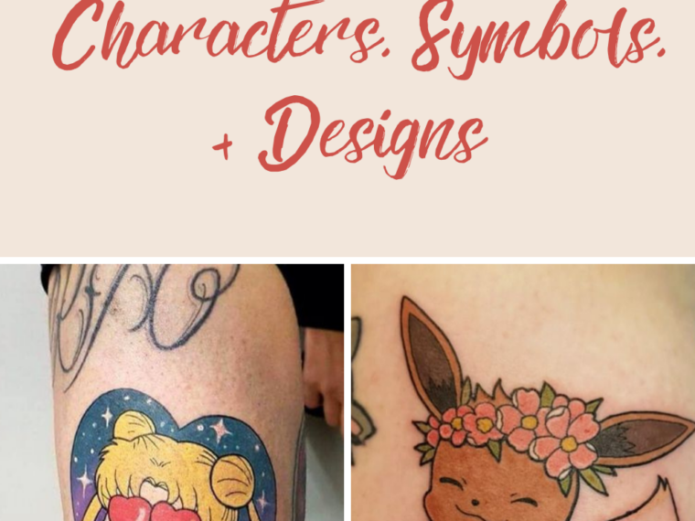 Anime Tattoo Ideas