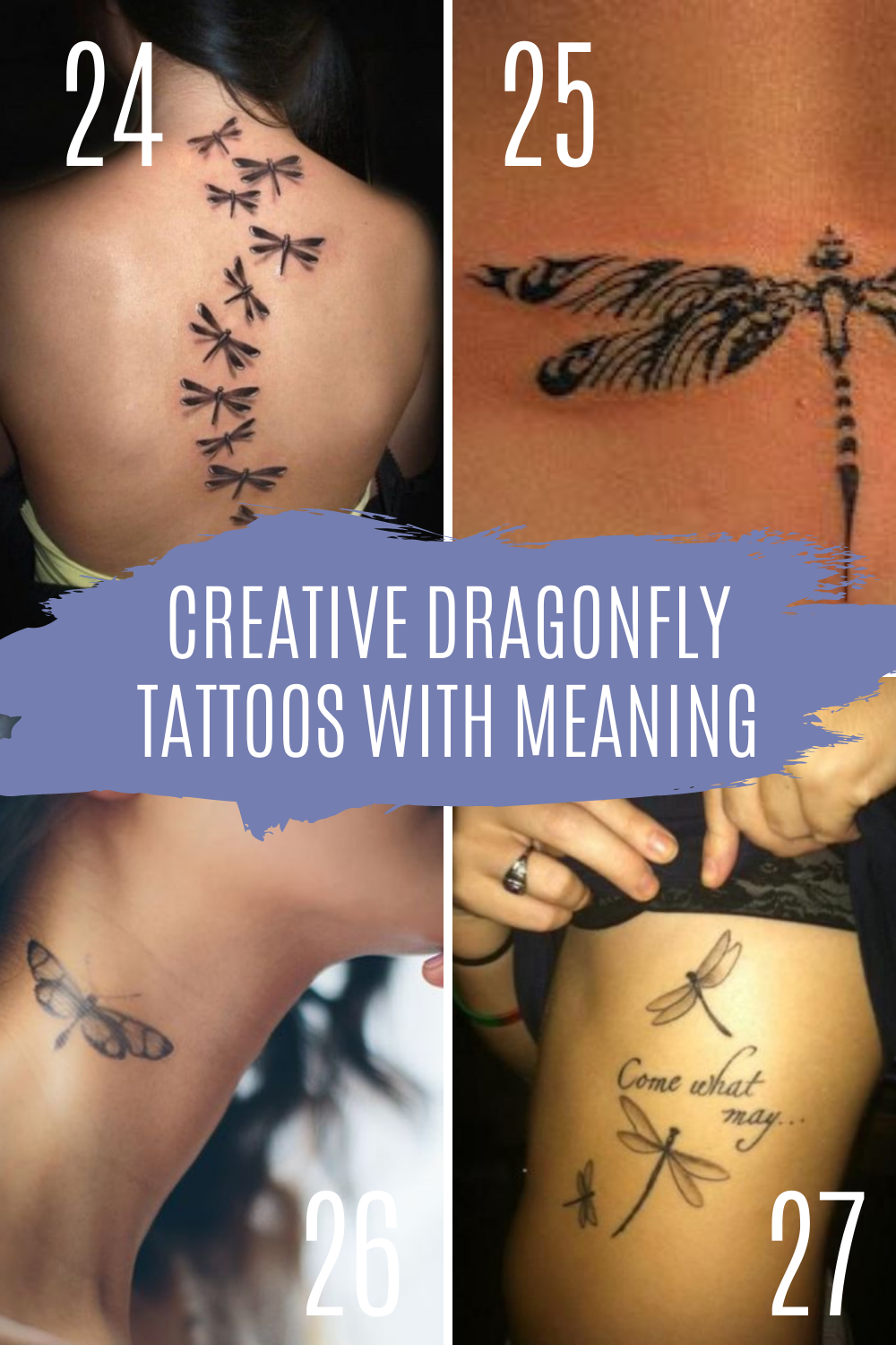 Dragonfly Tattoo Meaning and Designs