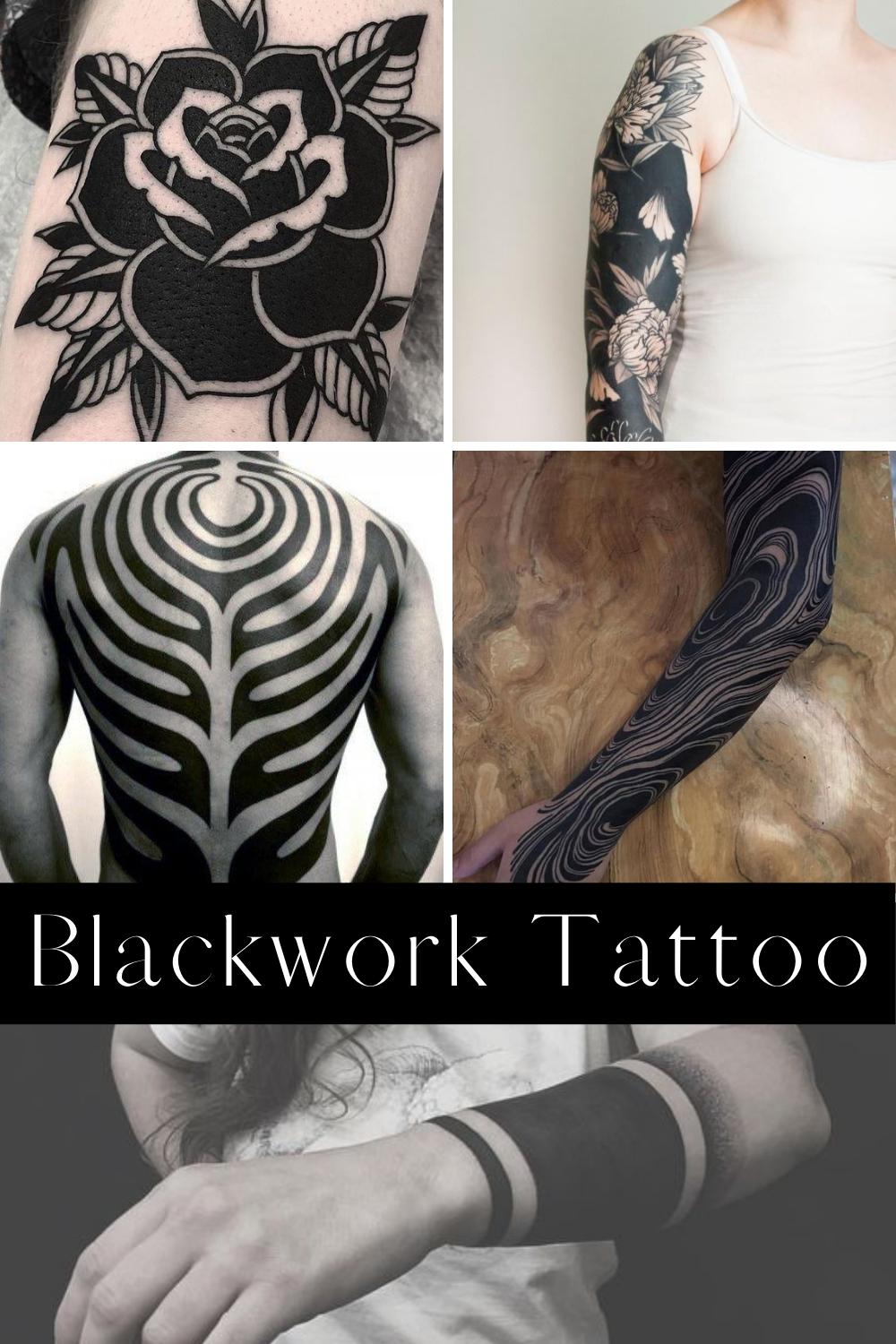 Blackwork Tattoo Ideas & Designs
