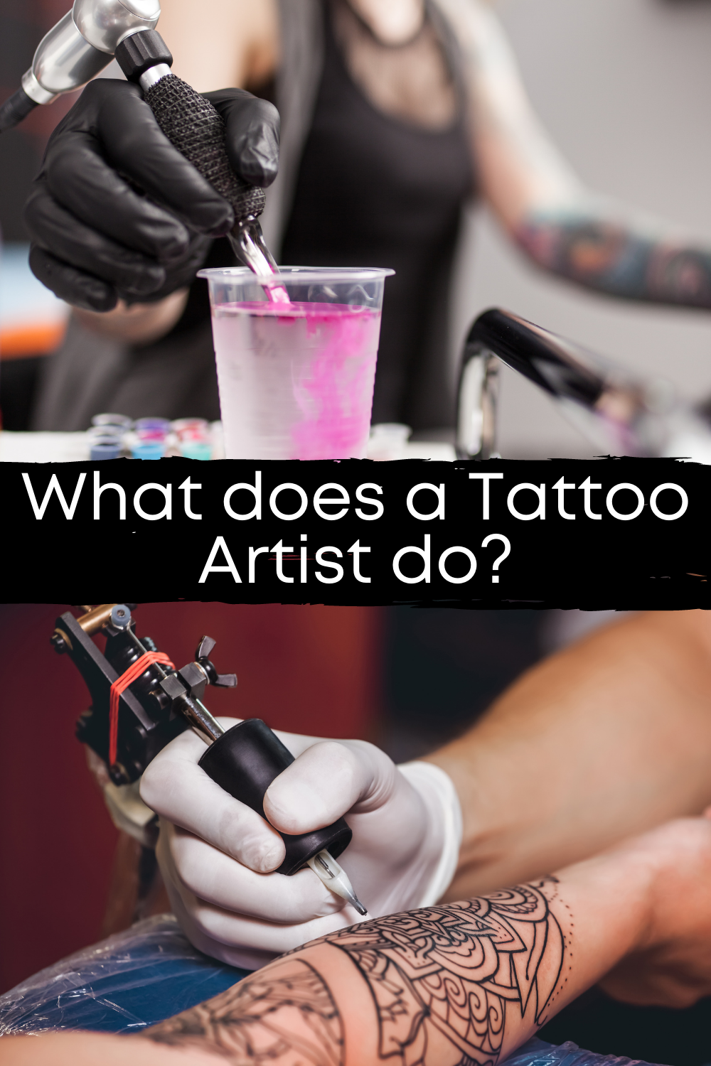 What Does A Tattoo Artist Do To Make Them Good?
